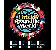 Drink Around the World - EPCOT Photographic Print