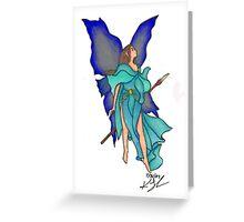 Warrior Fairy Greeting Card
