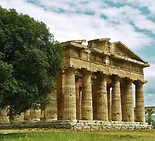 Paestum by James Ritchie