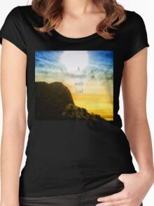 With God Women's Fitted Scoop T-Shirt