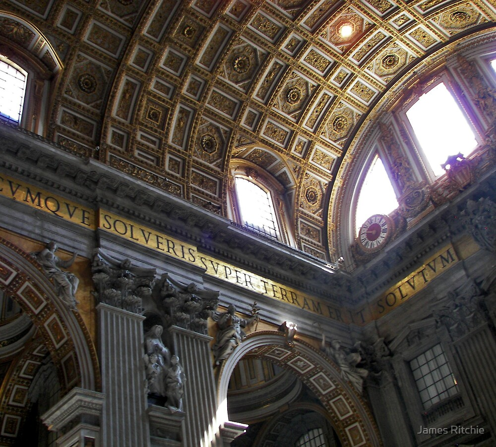 St Peters Basilica by James Ritchie