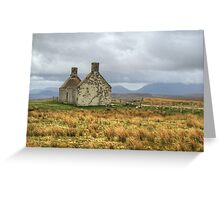 Return To Moine House Greeting Card