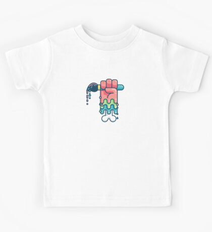 Paint or Die Kids Tee