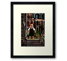 The Housekeeper Fine Art Print Framed Print