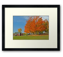 The General Store, Lost Villages, Cornwall, Ontario, Canada Framed Print