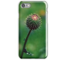 Protected before full bloom iPhone Case/Skin