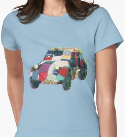 Bug in a Rug Womens Fitted T-Shirt