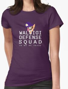 In Waluigi We Trust Womens Fitted T-Shirt