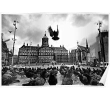 Royal Palace of Amsterdam Poster