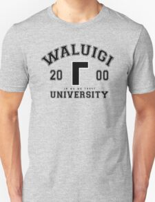 Waluigi University Unisex T-Shirt