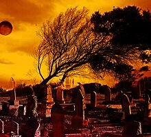 Dark Moon Over The Graveyard by Evita