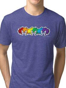Colour Abstract Tri-blend T-Shirt