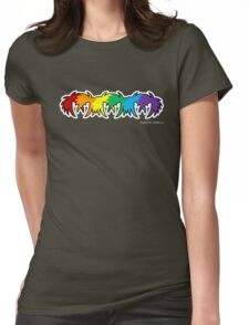 Colour Abstract Womens Fitted T-Shirt