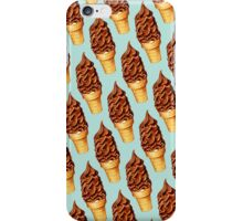 Chocolate Dip Ice Cream Pattern iPhone Case/Skin