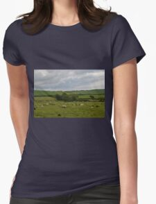 Rural England............... Womens Fitted T-Shirt