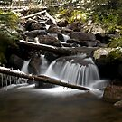 Icicle River by John  Sperry