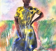Proud Lady by Joyce Ann Burton-Sousa