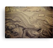 Marbled sand Canvas Print