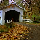 Deadwood Covered Bridge by WaterInMotion