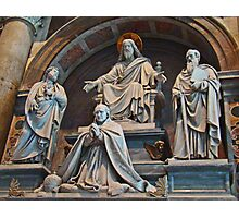 St Peter's Sculptures Photographic Print