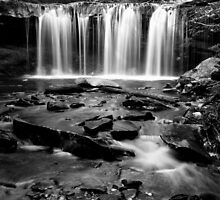 Gently Falling Water by Mark Van Scyoc