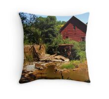 Rex Mill Throw Pillow