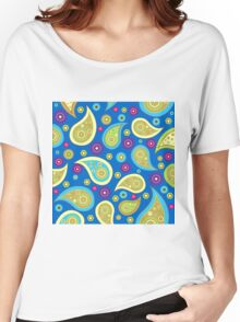 PLEASING PAISLEY-2 Women's Relaxed Fit T-Shirt