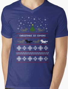 Christmas is coming Sweater + Card Mens V-Neck T-Shirt