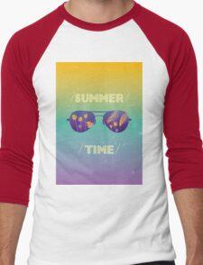 Summer time Men's Baseball ¾ T-Shirt