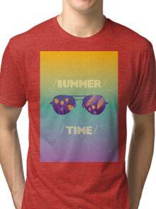 Summer time Tri-blend T-Shirt
