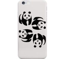 Panda Tumble iPhone Case/Skin
