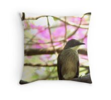 Tiny Bird Throw Pillow
