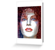 Doll Face  Greeting Card