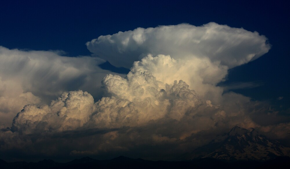 Cumulonimbus  by James Duffin