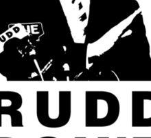 RUDD DON'T SKATE... Sticker