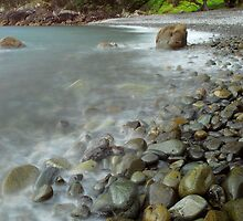 Winters day at Fantail Bay by Paul Mercer