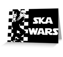 Ska Wars Greeting Card