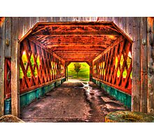 The Kissing Bridge Photographic Print