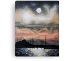 Oil Painting - Emeryville Marina III 2008 Canvas Print
