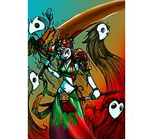 Jade warrior Photographic Print
