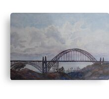 Newport Bay Bridge I Metal Print