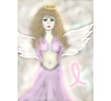 Pink Angel...A reminder angel Photographic Print