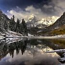 Snowy Bells by Ann J. Sagel