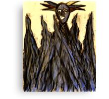 King Volcano Canvas Print