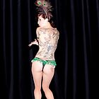 The wonderful Kelly Ann Doll, Burlesque performer by Garry Hannah