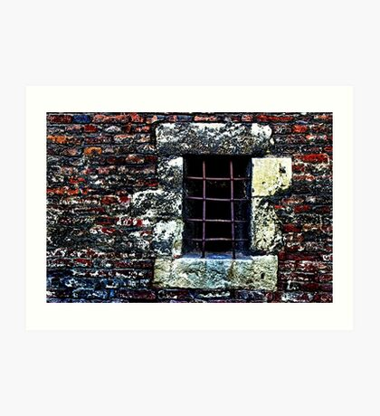 The Punishment Room Fortress Kalemegdan Fine Art Print Art Print