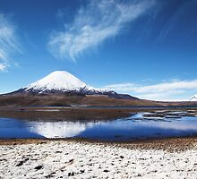 Vulcan Parinacota by Bob Wickham