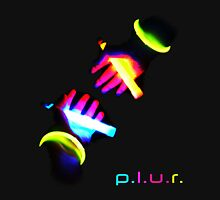 Glow PLUR Womens Fitted T-Shirt