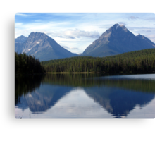 A Moment For Reflection Canvas Print