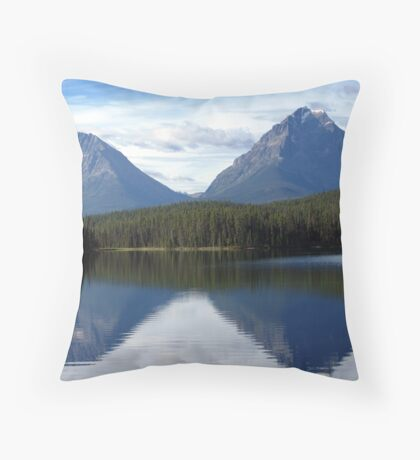 A Moment For Reflection Throw Pillow
